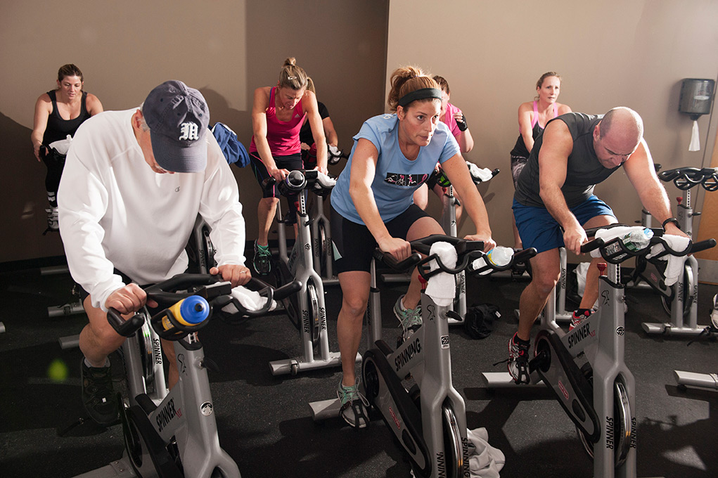 sign up for spin class with new online feature